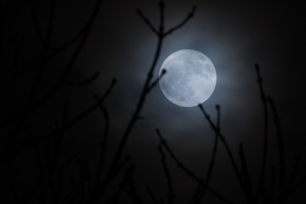 The New Year's Day Supermoon & Stationing Uranus